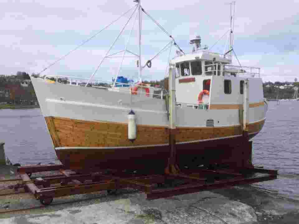 Båtslipp 45 tonn
